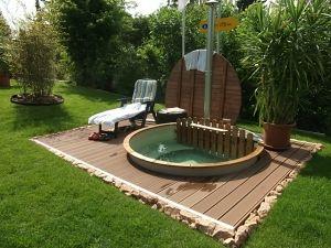 APT levert de meeste kunststof inbouw hottubs, hot tubs met rechte of schuine wanden, beste comfort