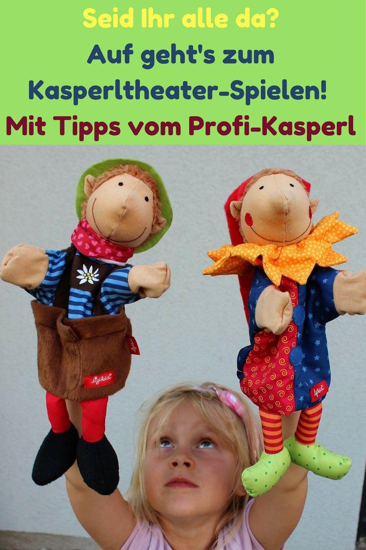 Tri, tra, trullala! Wir spielen gerne mit Kasperlpuppen. Wie das am besten geht - das hat uns für den Blog ein Profi-Kasperl verraten.