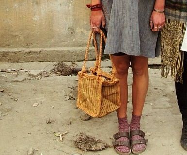 Birkenstocks and socks are so lovely together