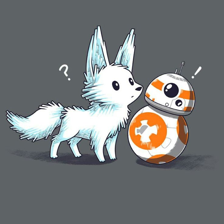 Bb-8 and the Crystal critter