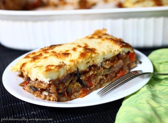 Vegetarian Moussaka | Veggie Recipes | Pinterest
