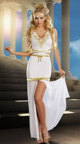 Goddess Of Love Costume on Sale . Click to Purchase . #costume #dress #fashion