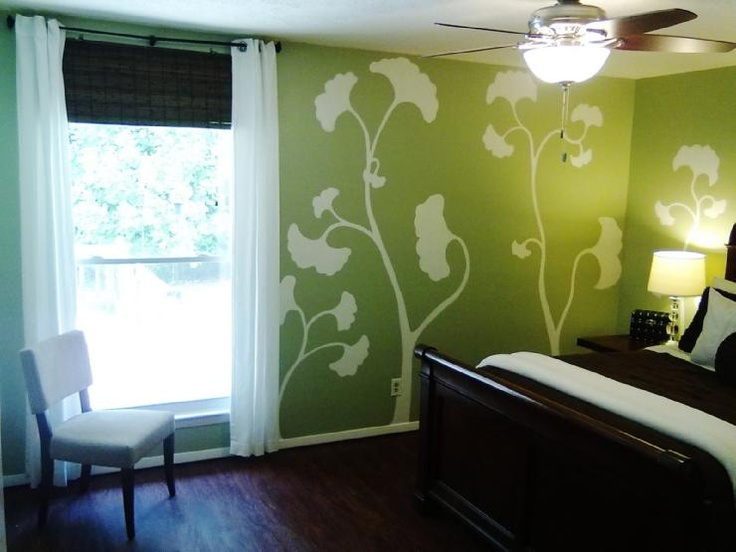 Master Bedroom Green Walls 107 best the green room images on pinterest | home, live and