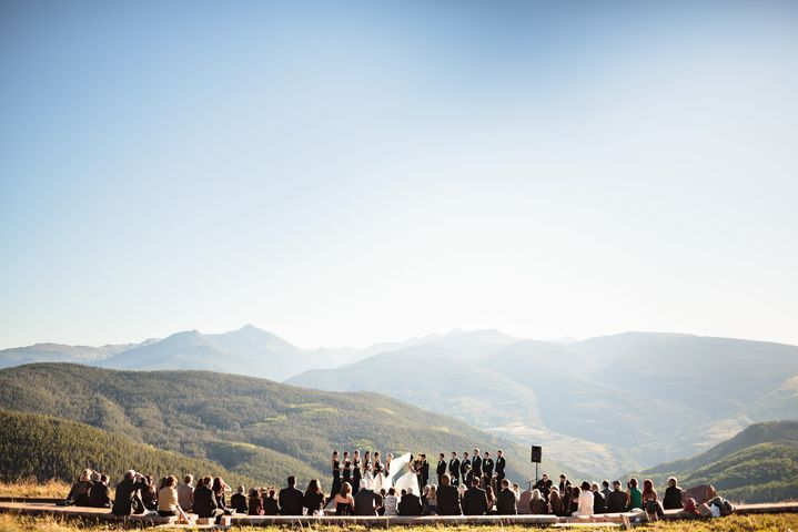 The Vail Wedding Deck