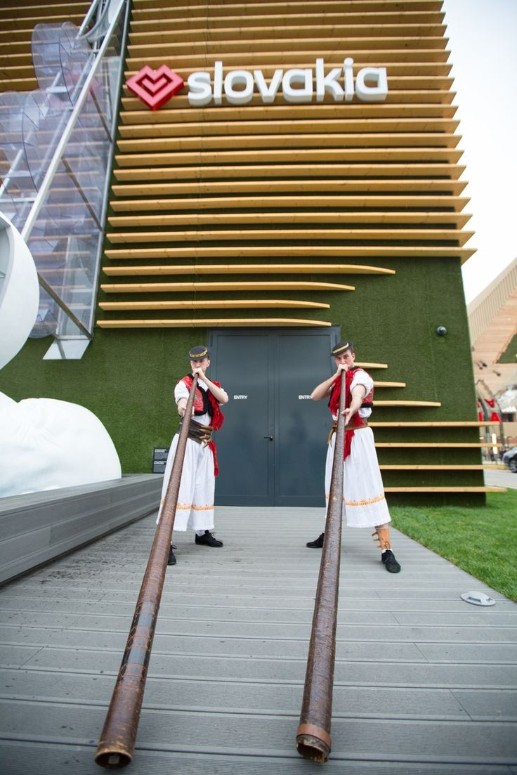 National Dance group - Magic Spurs - Čarovné ostrohy at the opening of the Slovak pavilion at the EXPO Milano 2015.