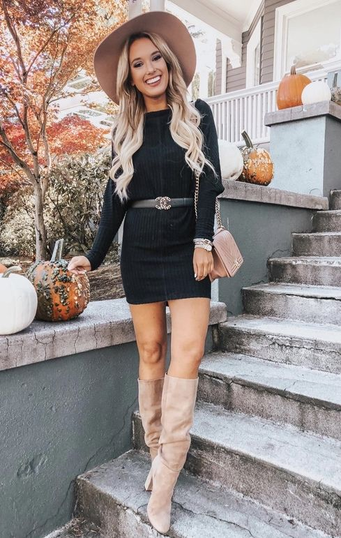 b2a22e07cb1 17 Trendy Winter Street Style Outfits For 2019