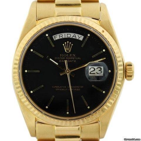 Rolex Non-Quickset President 1803 Gents Watch