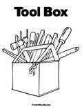 Tool Box Coloring Page - Twisty Noodle