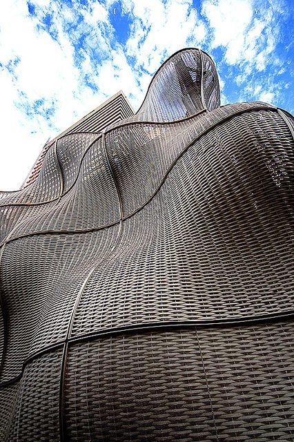 Thomas Heatherwick's Steel Entrance at Guy's Hospital | Flickr - Photo Sharing!