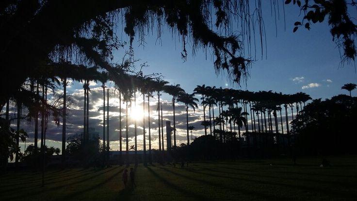 Parque Municipal Roberto Burle Marx em São José dos Campos, SP