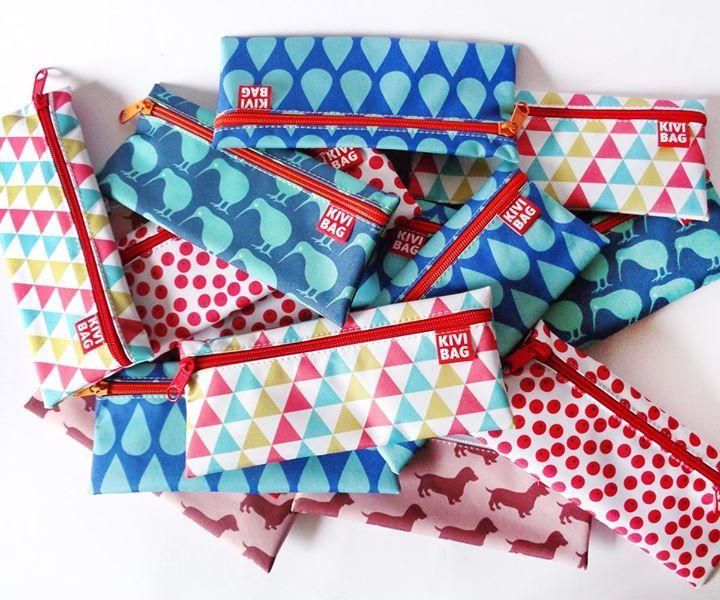 New photo on our Facebook page: Kis cipzáros kivibagek készültek. www.kivibag.meska.hu  Zipper Bag www.kivibag.com #kivibag #lunchbags #zipperbags #sandwichbags