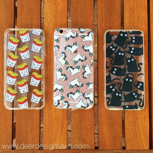 Googly eye phone cases!  www.deerdesignsaus.com $12AUD