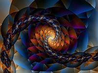 Fractal Definition: A geometric pattern that is repeated (iterated) at ever smaller (or larger) scales to produce (self similar) irregular shapes and surfaces that cannot be represented by classical (Euclidian) geometry. Fractals are used especially in computer modeling of irregular patterns and structures found in nature.(1)