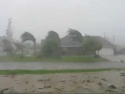 The Full Force of Hurricane Gustav in Louisiana