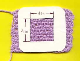 """Beginner Crochet. How to measure gauge for patterns - the advice """"change the hook and yarn"""" does not always work - this advice is priceless!"""