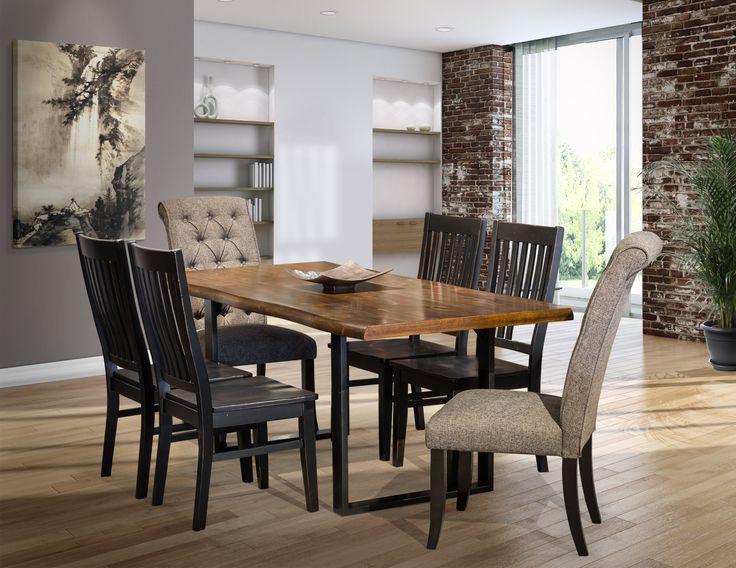 Esmarina 7-Piece Dining Room Set #diningroomset #diningroomideas #diningroom #furnitureideas