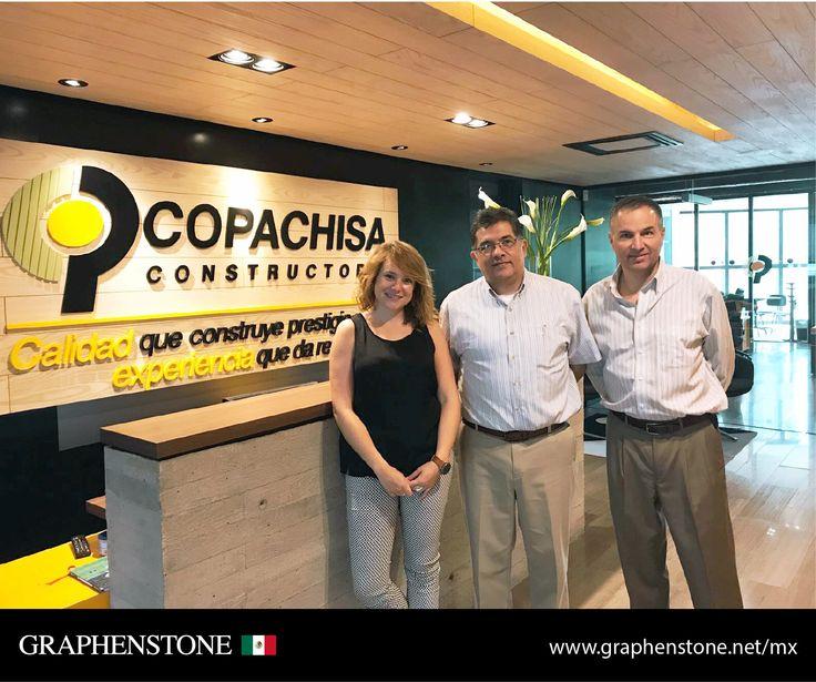 Graphenstone visita en México a una de las mayores constructoras a nivel nacional en sus oficinas centrales en la cuidad de Chihuahua, con el objetivo de cerrar un posible acuerdo para el mercado mexicano. #Graphenstone#Mexico#PaintsForTheGreenGeneration #Original&Authentic