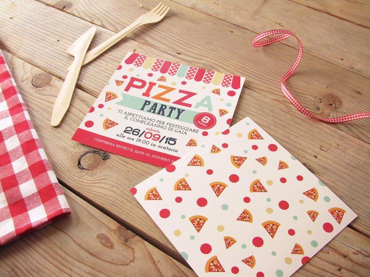 Qualche idea per la tua festa di compleanno a tema Pizza Party
