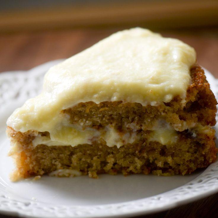 Banana Pudding Cake Recipe Trisha
