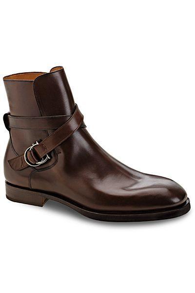 9fcfffb837b Salvatore Ferragamo   Men: Dress Boots in 2019   Shoes, Mens shoes ...