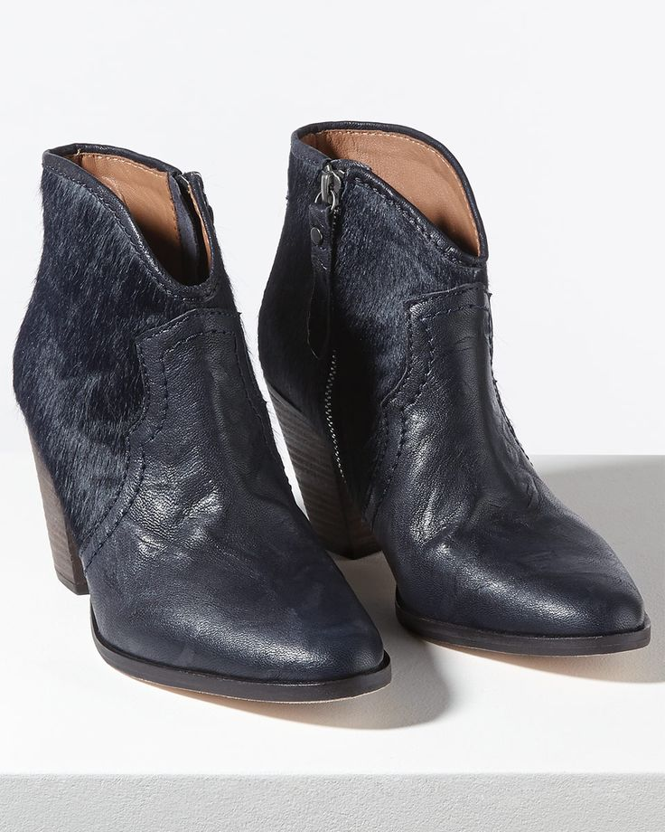 Cara Textured Side Zip Boot