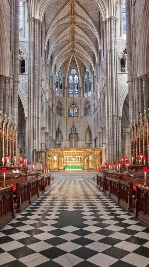 """The Quire at Westminster Abbey in London, England • The Quire (as distinct from the Choir) is an area of the church often referred to as a """"chancel"""". http://www.london4vacations.com/"""