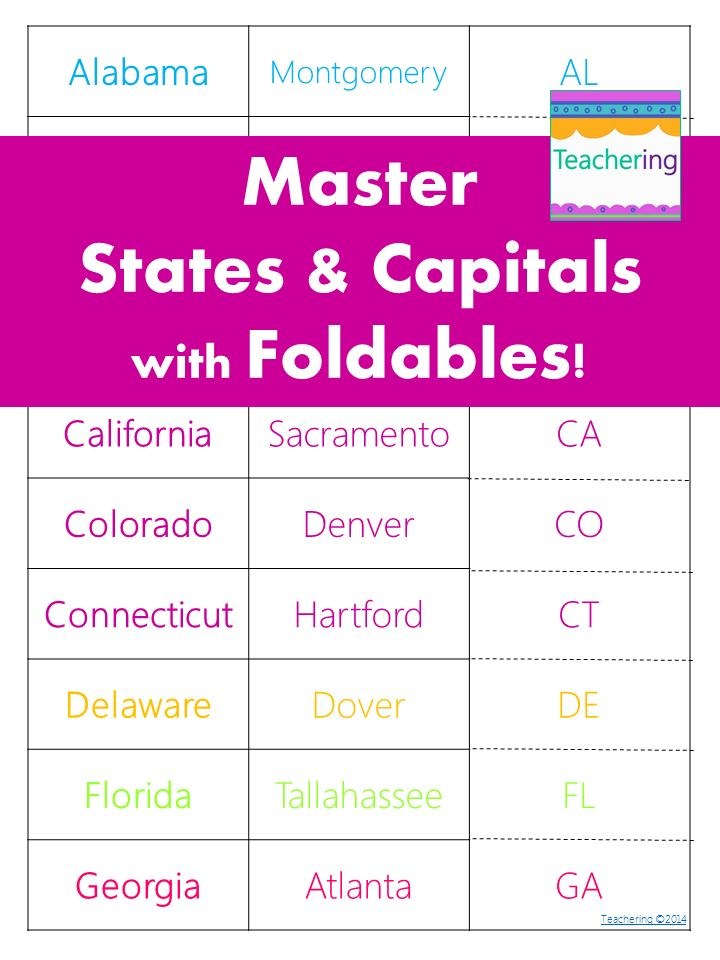 Homework help study state capitols