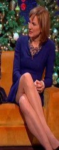 Fiona Bruce Parallel legs