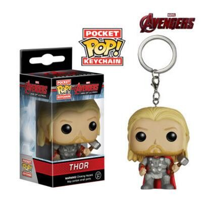 Funko Pop Green Arrow Figure Keychain Batman Key Ring Holder Captain America Spiderman Hulk Jack Skellington Deanerys Hermione