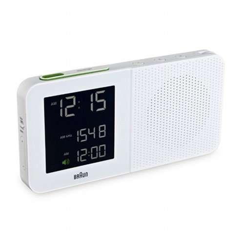 Braun Digital Alarm Clock Radio Bn C010 Alarmsdesign Alarm Clock Radio Alarm Clock Digital Clock Radio