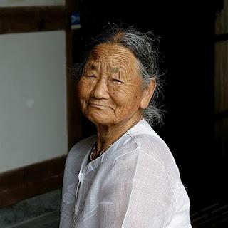 할머니 an old lady in Korea