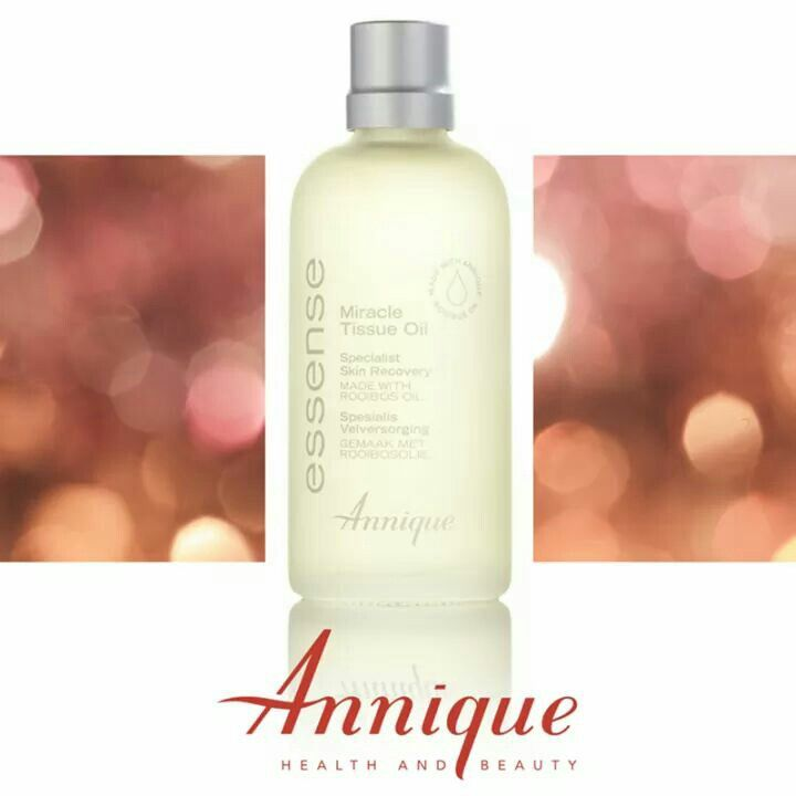 The Annique Miracle Tissue Oil is called a 'miracle oil' for a very good reason. The results are miraculous! It has been formulated with Rooibos infused oil to help calm and revive your skin. This light, easily absorbed tissue oil helps to improve the appearance of scars, wrinkles, uneven skin-tone and stretch marks.#Annique