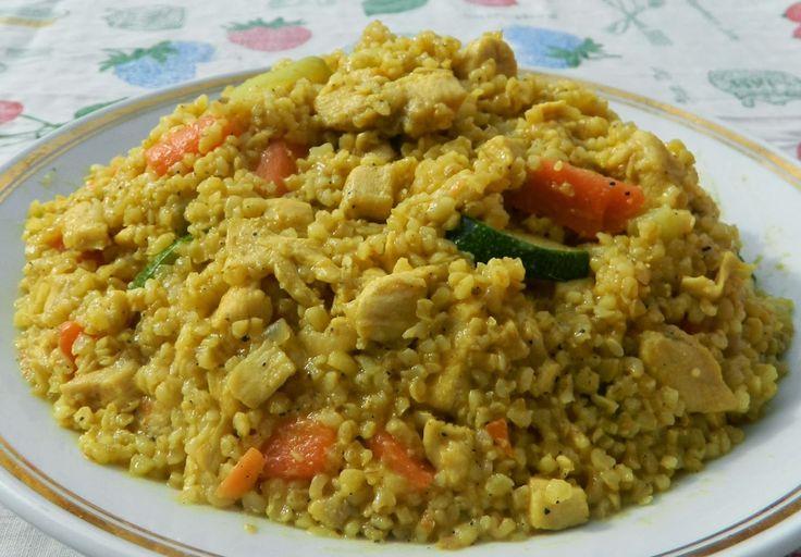 A bulgur igen értékesköret: a barna rizsnél ötször magasabb a rosttartalma. Glikémiás indexe csupán 46, míg a sima rizsé 70-90. Számos ásványi anyaghoz és vitaminhoz juthatunk a fogyasztásával, gazdag vas, folsav, kálium, magnézium, B1, B2, B6 és E vitamin forrás.        Bulgur piláf