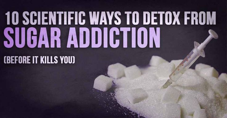 Did you know sugar is 8 times as addictive as cocaine, and it's the leading cause of chronic disease? Here's 10 proven ways to detox from sugar addiction.