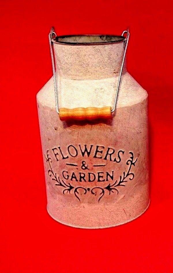 flowers and garden milk churn a fantastic birthday idea for Nan grandad mum dad