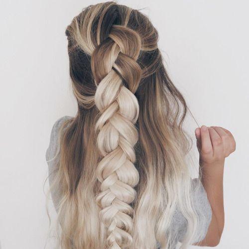 long blonde hair blonde hair braid ideas