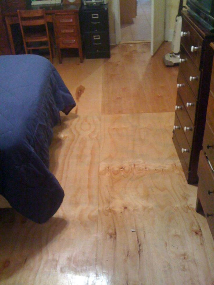 Diy plywood floors plywood and flooring for Cheap diy flooring ideas