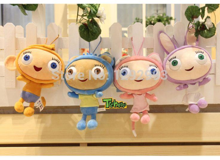Waybuloo Characters: Yojojo, Nok Tok, Treehouse TV, De Li and Lau Lau