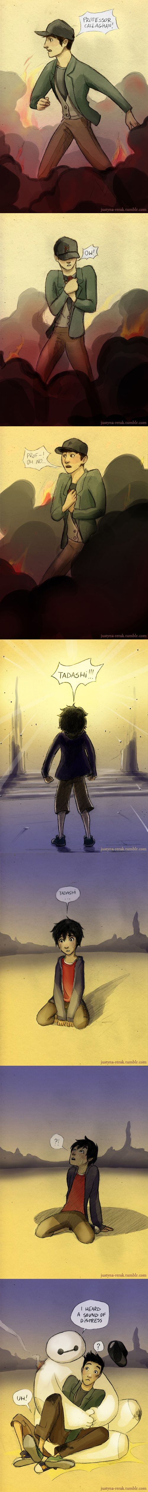 Big Hero 6 by Wind-up-Owl on DeviantArt <<< OH MY GOODNESS, THIS SHOULD'VE HAPPENED. XD<<< IF ONLY THIS WAS IN THE MOVIE!!!