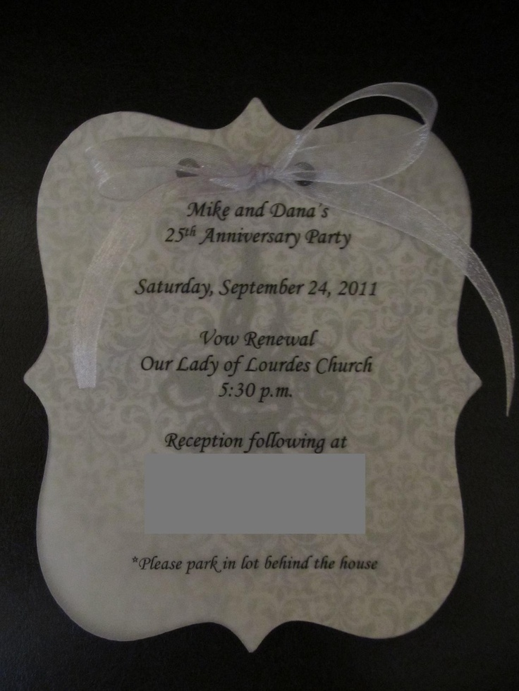 wedding renewal invitation ideas%0A Other invitations  this one is a vow renewal invitation