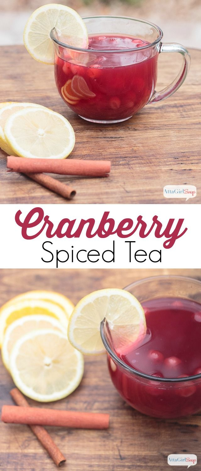 This cranberry spiced tea recipe is a cross between Russian tea and wassail, with a cranberry twist that makes it the perfect thing to sip with your Thanksgiving meal. #DontHesitaste #ad