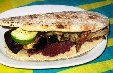Αραβική πίτα με λαχανικά Βασιλική Παπαδοπούλου Διαιτολόγος Διατροφολόγος