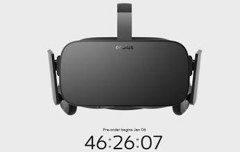 Webhouse.pt - Pré-reservas dos Oculus Rift começam esta quarta-feira