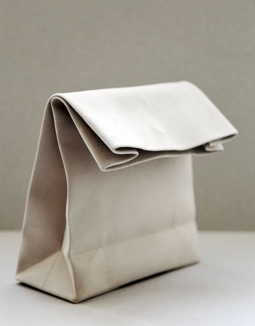 : Leather Pur, Paper Bags, Lunches Bags, Brown Bags, Fun Ideas, Bags Lunches, Leather Bags, Bags Handbags, Bags Accessories