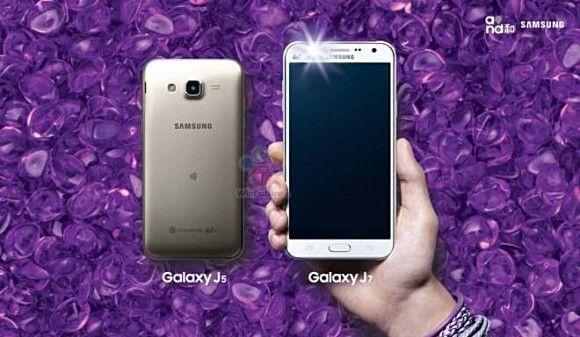PonselHolic. Setelah berminggu-minggu banyak isu yang beredar perihal smartphone dari Samsung dengan type Samsung J7 & Samsung J5 akhirnya secara resmioleh pihak Samsung diumumkan akan mulai dilakukan penjualan pada minggu ini. Untuk detail Chipset yang digunakan untuk kedua ponsel pintar ini adalah Snapdragon 615 prosesor octa-core dengan lebar layar 5.5 Inch dengan 720 x 1280