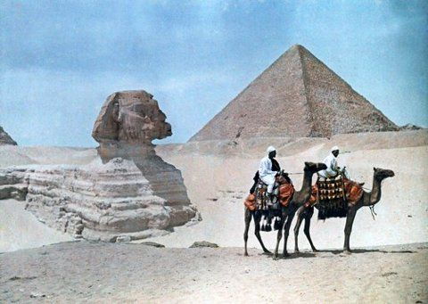 Egypt, 1920s, in colour | HOW TO BE A RETRONAUT