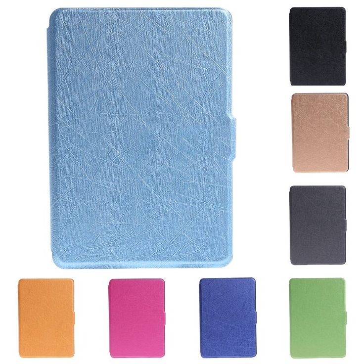 Ultra Slim 6 Inch Faux <b>Leather</b> Folio Flip <b>Case Protective Shell</b> Skin ...