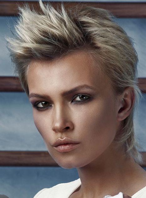 Frisur damen blond kurz