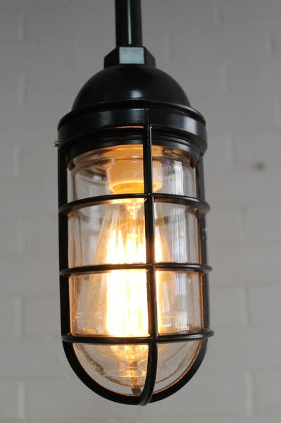 Fat Shack Vintage cage pendant light