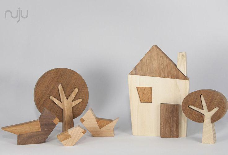 Nuju, wooden design toys.